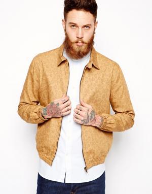 Куртка-пилот YMC. Цвет: коричневый