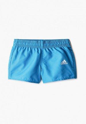 Шорты для плавания adidas. Цвет: бирюзовый