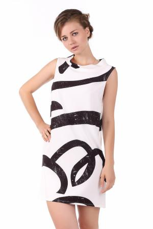Платье Sai-Ku. Цвет: чёрный