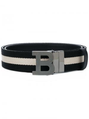 B Buckle belt Bally. Цвет: черный