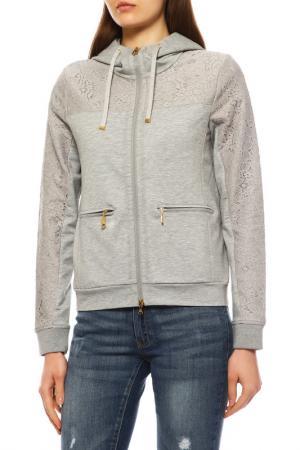 Куртка спортивная Bogner. Цвет: серый