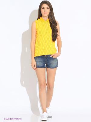 Майка-поло U.S. Polo Assn.. Цвет: желтый