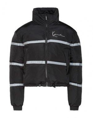 Куртка KARL KANI. Цвет: черный
