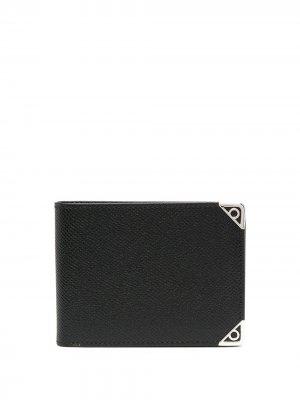 Декорированный кошелек Salvatore Ferragamo. Цвет: черный
