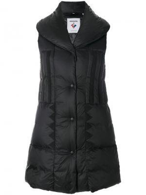 Дутая куртка-жилет Rossignol. Цвет: черный