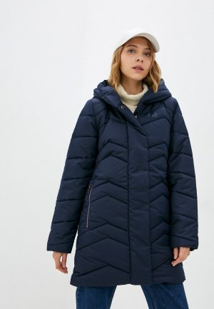 Куртка утепленная Jack Wolfskin KYOTO COAT W. Цвет: синий