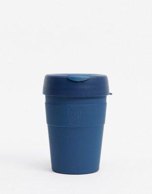 Многоразовая кружка из нержавеющей стали KeepCup, 12 унций-Темно-синий Keep Cup