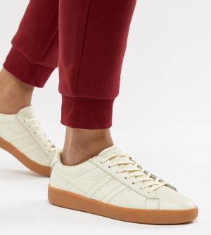 Кожаные кроссовки Aztec Gola. Цвет: кремовый