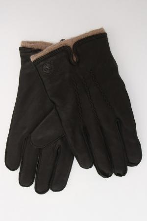 Перчатки Timberland. Цвет: коричневый