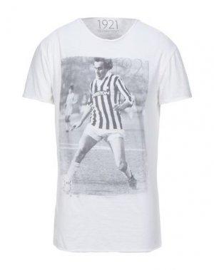 Футболка 1921. Цвет: белый