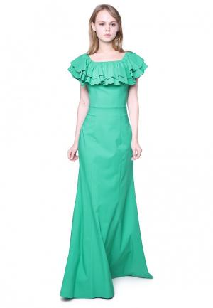 Платье Marichuell FERRE. Цвет: зеленый