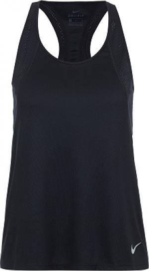 Майка женская , размер 40-42 Nike. Цвет: черный