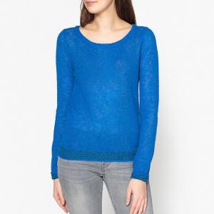 Пуловер детский из альпаки ODELIA HARRIS WILSON. Цвет: синий