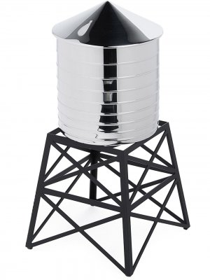 Контейнер Water Tower Alessi. Цвет: серебристый