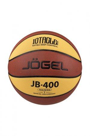 Мяч баскетбольный JB-400 №7 Jogel. Цвет: коричневый
