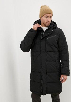 Куртка утепленная Urban Fashion for Men. Цвет: черный