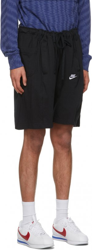Black Denim Overjogging Shorts Bless. Цвет: black/black