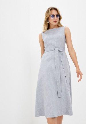 Платье Энсо. Цвет: голубой