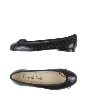 Балетки FRENCH SOLE. Цвет: темно-синий