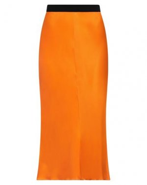 Длинная юбка BY MALENE BIRGER. Цвет: оранжевый