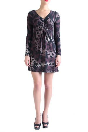 Платье EVA Milano. Цвет: фиолетовый