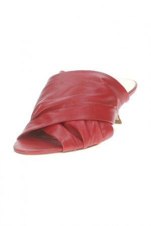 Туфли открытые Baldinini Trend. Цвет: red