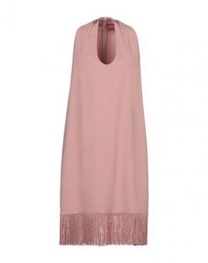 Короткое платье GOSSIP. Цвет: пастельно-розовый