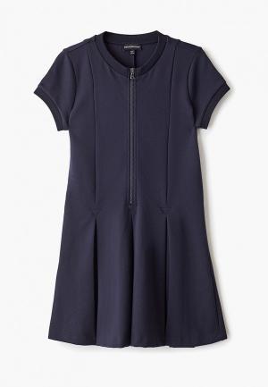 Платье Emporio Armani. Цвет: синий
