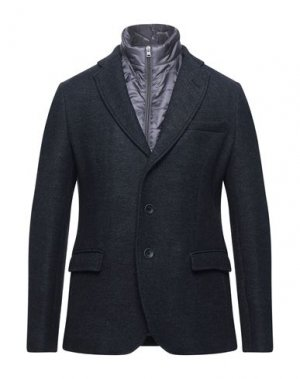 Пиджак HERNO. Цвет: стальной серый