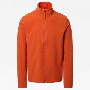 Джемпер флисовый мужской Treadway Hybrid With Futurefleece, размер 48 The North Face. Цвет: оранжевый