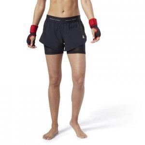 Спортивные шорты Combat Kickboxing Reebok. Цвет: black