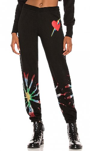 Свободные брюки gia Lauren Moshi. Цвет: черный
