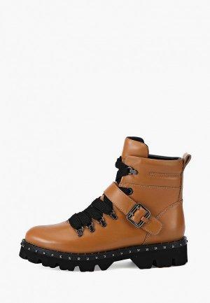 Ботинки Alla Pugachova. Цвет: коричневый