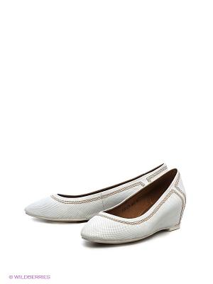 Туфли LENA MILAN. Цвет: белый