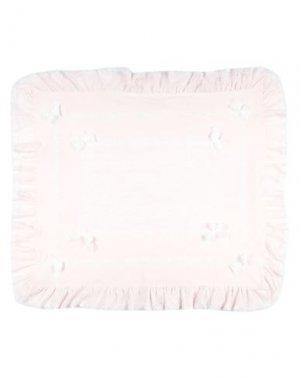 Одеяльце для младенцев ALETTA. Цвет: светло-розовый