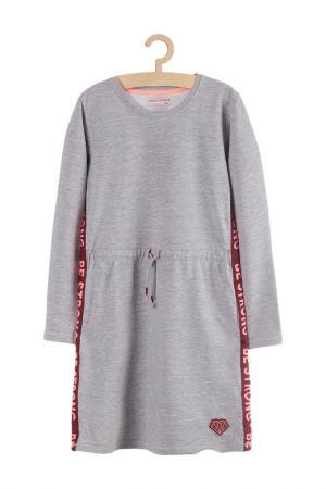 Платье 5.10.15.. Цвет: серый