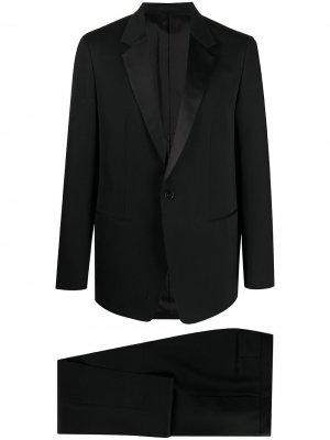 Вечерний костюм с однобортным пиджаком Jil Sander. Цвет: черный