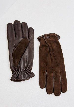 Перчатки Sermoneta Gloves. Цвет: коричневый