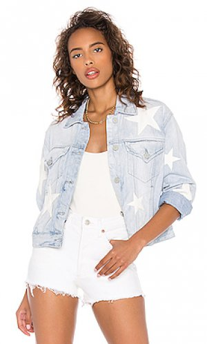 Джинсовая куртка star BLANKNYC. Цвет: легкий деним