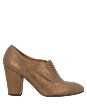 Ботинки CHIE MIHARA. Цвет: бронзовый