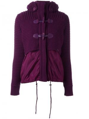 Куртка с капюшоном Bark. Цвет: розовый