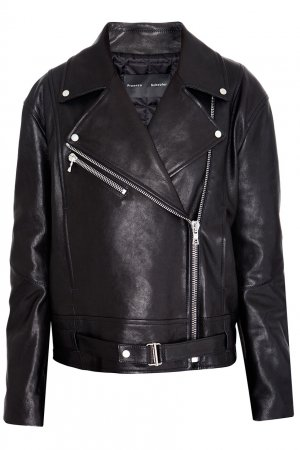 Кожаная куртка Proenza Schouler. Цвет: черный