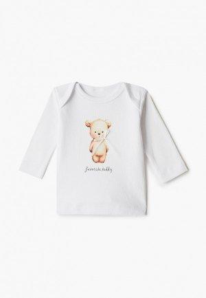Лонгслив Наша Мама Favorite teddy. Цвет: белый