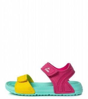 Тапочки коралловые для девочек Aquashoes, размер 37 Joss. Цвет: розовый