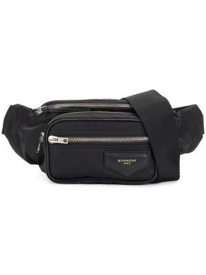 Поясная сумка Givenchy. Цвет: черный