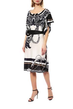 Платье Ferre. Цвет: черно-белый