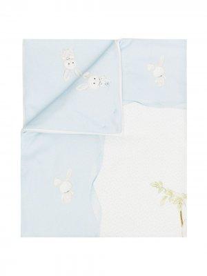 Одеяло с принтом Monnalisa. Цвет: белый