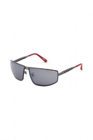 Солнцезащитные очки Chopard. Цвет: мультицвет, серый