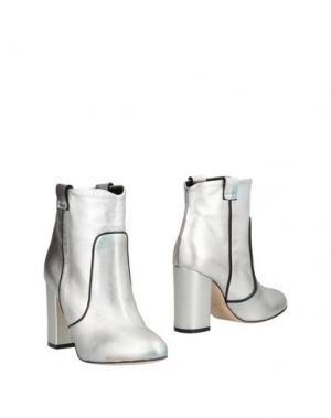 Полусапоги и высокие ботинки GIAMPAOLO VIOZZI. Цвет: серебристый