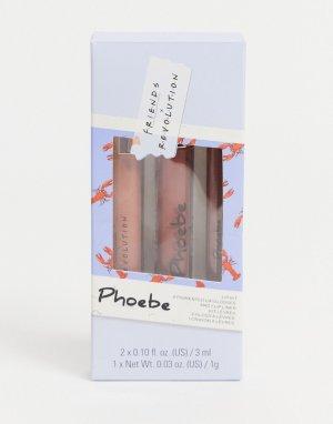 Набор средств для губ x Friends (Phoebe)-Многоцветный Revolution
